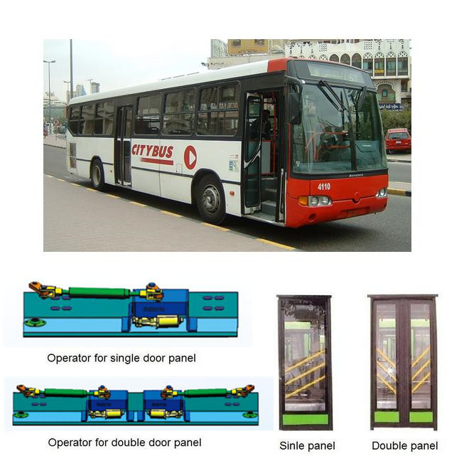 Electric In-swing bus door system  (SID100E)