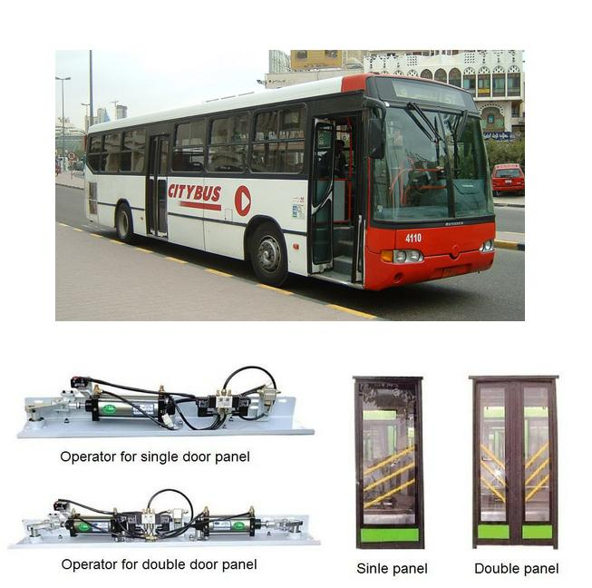 title='Pneumatic In-swing bus door system  (SID100P)'